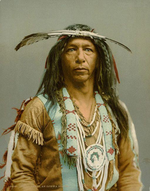 photo amerindiens noir et blanc